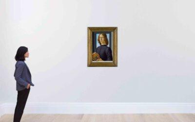 Pintura de Botticelli se convierte en fenómeno viral y récord en subasta